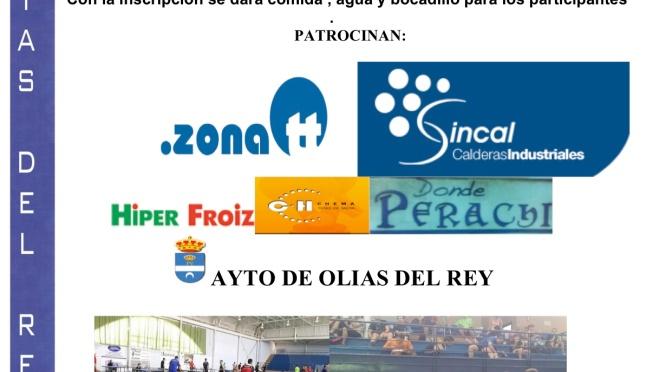 XI EDICION MARATON INTERNACIONAL TENIS DE MESA OLIAS DEL REY . SABADO 29 AGOSTO 2015