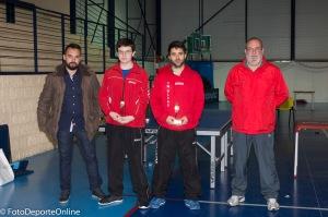 Campeonato Regional absoluto CLM de Tenis de mesa en Carranque.