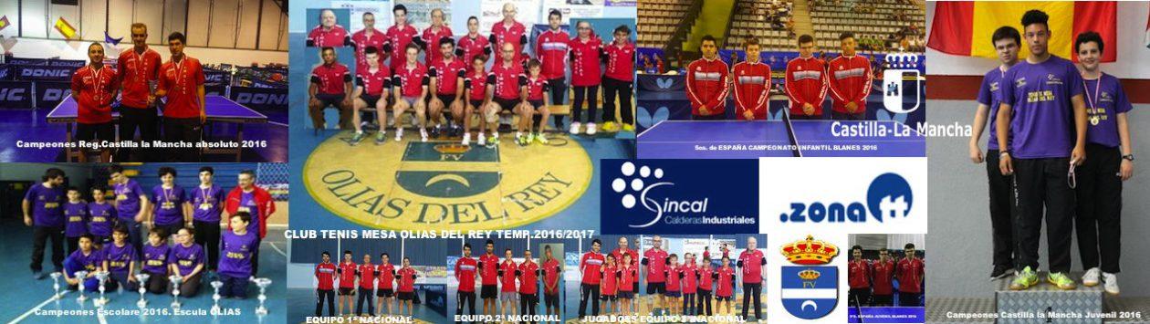 CLUB TENIS DE MESA OLIAS DEL REY